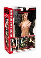 Coffret Gang test anal 3 DVD