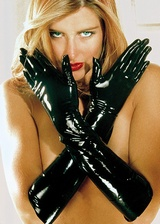 Gants longs latex Erotic Touch