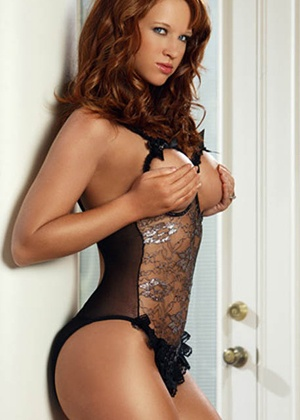 lingerie Body résille Erotic