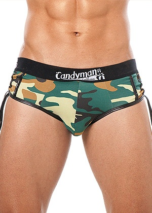 lingerie Boxer Brief Camouflage